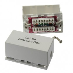 CAT5e Junction Box, 110 Punch Down Type