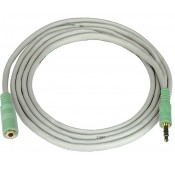 3.5mm Stereo Audio Extension Cables, Male to Female
