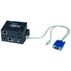 VGA + Audio Extender via CAT5 cable, 600'