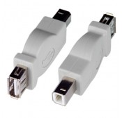 USB 2.0 Type A Female to Type B Male Adapter