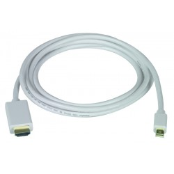 Mini DisplayPort to HDMI-A Interface Cable - Male to Male