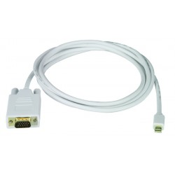 Mini DisplayPort to VGA Interface Cable - Male to Male