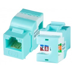 CAT6a Mini Horizontal Keystone Jack