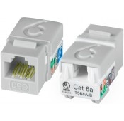 CAT6a Mini Vertical Keystone Jack