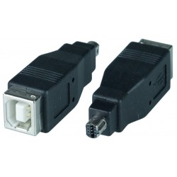USB 2.0 Type B Female to Mini 8-pin Male Adapter for Nikon Camera