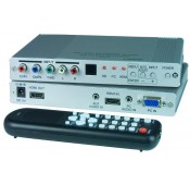 VGA/Component Video/HDMI Scaler/Converter