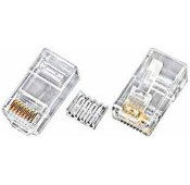 CAT6 Stranded RJ45 Plug for 24-26 AWG Cable