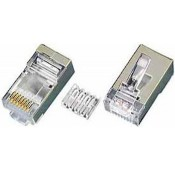 CAT6 Shielded Stranded RJ45 Plug for 24-26 AWG Cable