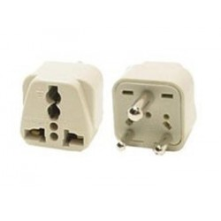 Universal BS 546 Type D Power Adapter for India, Parts of Africa