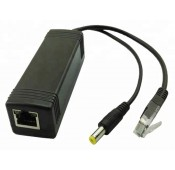 Gigabit Power over Ethernet (POE) 12V Splitter