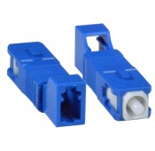 LC-SC Simplex Singlemode Fiber Optic Adapter, Female to Male
