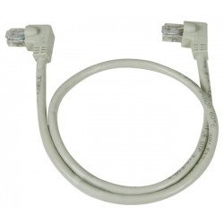 CAT6 Left Angle to Left Angle Patch Cords, 60C