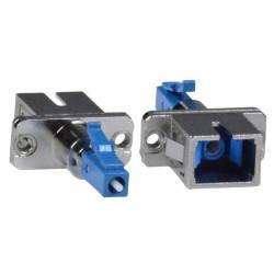 SC-LC Simplex Singlemode Fiber Optic Adapter, Female to Male