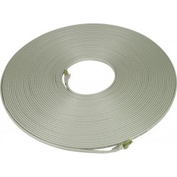 "CAT7 Flat Patch Cord, 0.14"" Thick"
