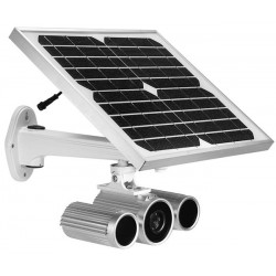 Solar-Powered Outdoor HD IP Camera: Wireless/Wired, Day/Night