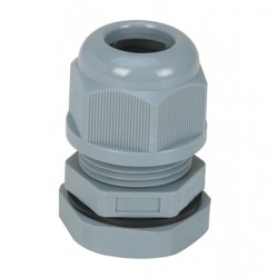 Parallel (G,PF) Short Threaded Waterproof Cable Gland IP68 for Cable Range 7-12mm Thread Length 10mm