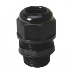 National Pipe (NPT) Short Threaded Waterproof Cable Glands IP68 for Cable Range 14-18mm Thread Length 15mm
