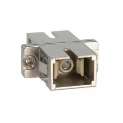 SC-SC Simplex Multimode Fiber Optic Coupler, Metal
