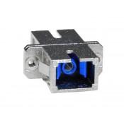 SC-SC Simplex Singlemode Fiber Optic Coupler, Metal