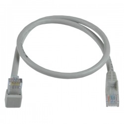 CAT6 Up Angle to Straight Patch Cords: 2 Feet