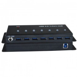 Industrial USB 3.0 Hub, 7-Port