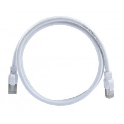 CAT6a Antibacterial/Antimicrobial Shielded Patch Cord Cables