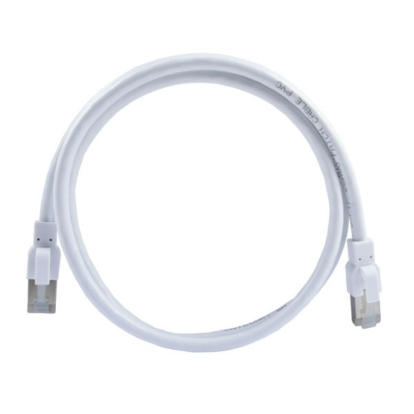 CAT6a Antibacterial Shielded Patch Cord Cable