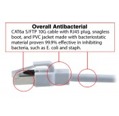 VPI Now Offering Antibacterial/Antimicrobial CAT6a Shielded Patch Cables