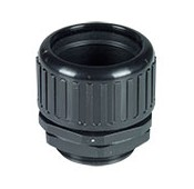 Waterproof Corrugated Tubing Fitting Max Conduit OD 48.00mm Thread Length 20mm Panel Mounting Hole 48-48.40mm
