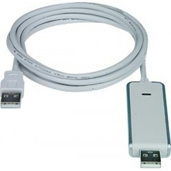 VPI Introduces USB 2.0 File Transfer Cable, PC / Mac