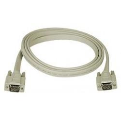 Flat VGA Monitor Cable