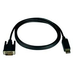 DisplayPort to DVI-D Interface Cables, Male to Male
