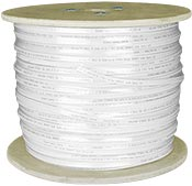 CAT6 Flat Bulk Network Ethernet Cable, Unshielded, How to run ethernet cable over long distances