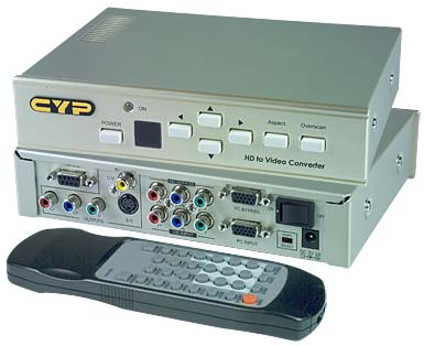 d sub vga hdtv video scan converter component composite s video rh vpi us VGA to TV Converter Walmart Pal Ntsc Converter