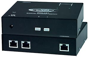 2-Port Manual Gigabit Ethernet Switch